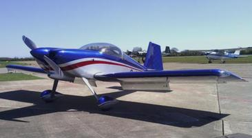 One third share Beccles based Vans RV7