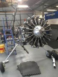 Rotec R3600 radial engine, brand new